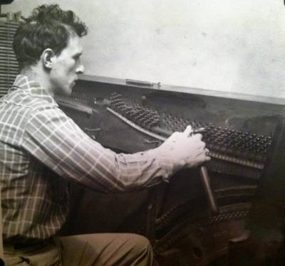 My father, Glenn Kipps, was blind since childhood and owned J.C. Howlett Piano Company.
