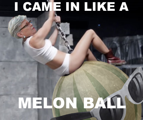 """I came in on a melon ball"" festival social media campaign"