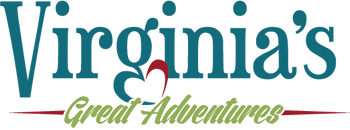 Virgnia's Great Adventures tourism logo designer