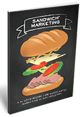 Sandwich Marketing booklet, plan a marketing campaign