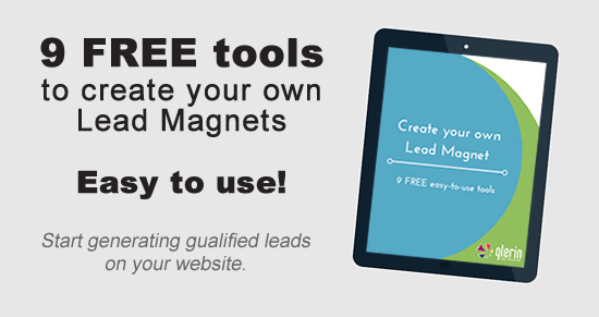9 free tools to make lead magnets