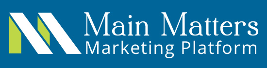 Main Matters Marketing Platform for economic development and Main Street